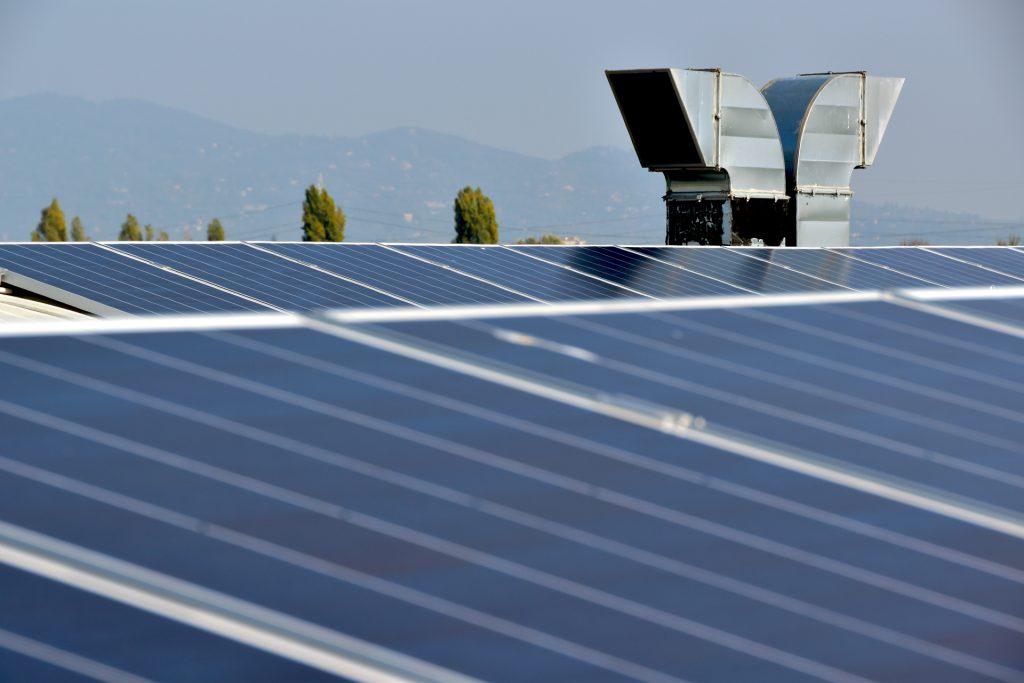 impianto fotovoltaico sunpower orbassano
