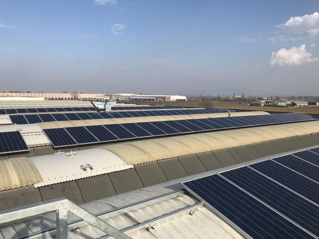 impianto fotovoltaico industriale sunpower